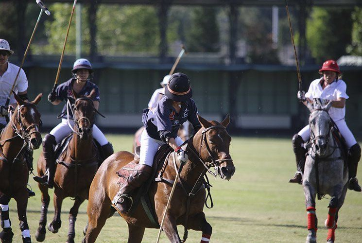 ladie's polo match