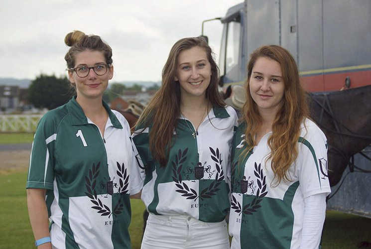 Exeter University Polo Club members