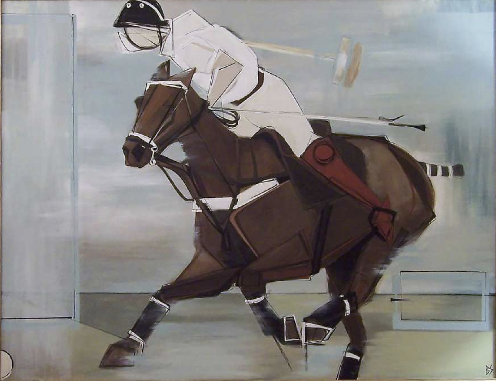 Bianca Smith painting