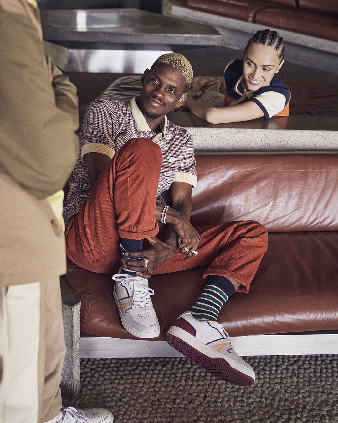 lacoste L001 Play Collective campaign